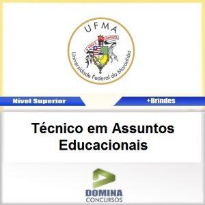 Apostila UFMA 2017 Técnico Assuntos Educacionais