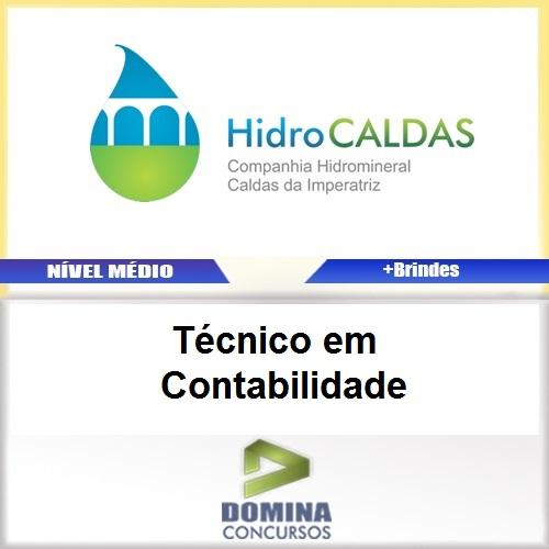 Apostila HidroCALDAS SC Técnico em Contabilidade