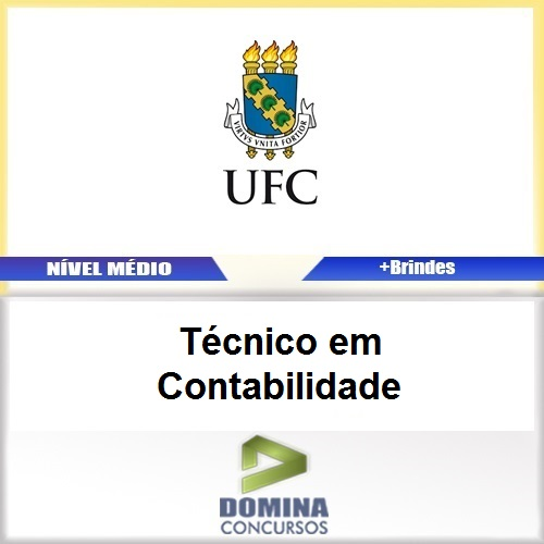 Apostila Concurso UFC 2017 Técnico em Contabilidade