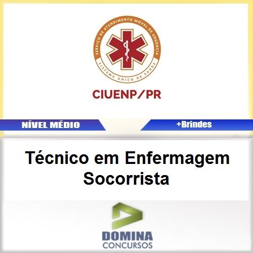 Apostila CIUENP SAMU 2017 TEC Enfermagem Socorrista