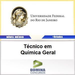 Apostila UFRJ 2017 Técnico em Química Geral