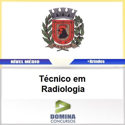 Apostila Bastos SP 2017 Técnico em Radiologia