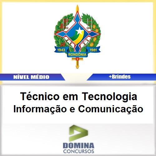 Apostila SEPOG RO 2017 TEC Informação e Comunicação