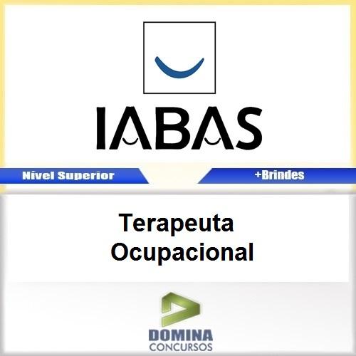 Apostila IABAS RJ 2017 Terapeuta Ocupacional