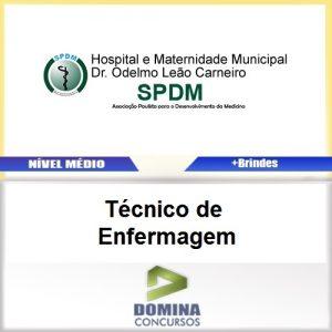 Apostila SPDM MG 2017 Técnico de Enfermagem PDF