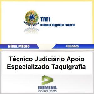 Apostila TRF 1 Região 2017 TEC JUD Especializado Taquigrafia