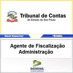 Apostila TCE SP 2017 Agente de Fiscalização Administração