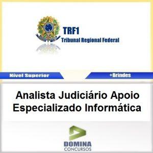 Apostila TRF 1 Região 2017 Analista JUD Especializado Informática