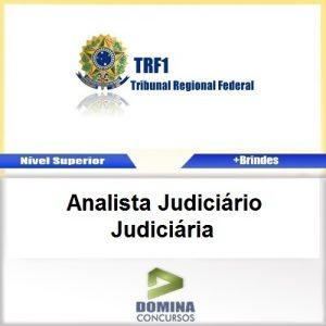 Apostila TRF 1 Região 2017 Analista Judiciário Judiciária