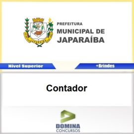 Apostila Concurso Japaraíba MG 2017 Contador Download