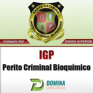 Apostila Concurso IGP SC 2017 Perito Criminal Bioquímico