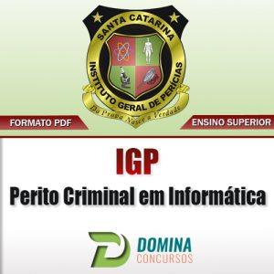 Apostila IGP SC 2017 Perito Criminal em Informática PDF