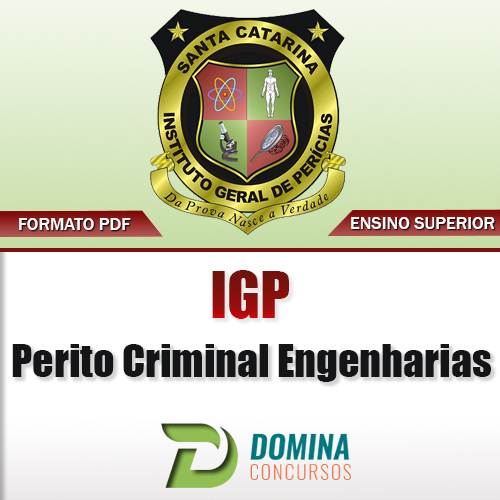 Apostila IGP SC 2017 Perito Criminal Engenharias Download