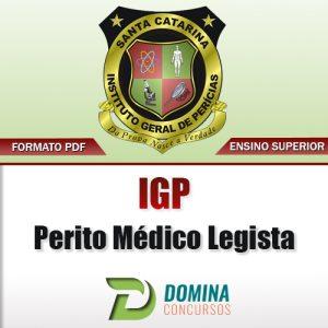 Apostila Concurso IGP SC 2017 Perito Médico Legista PDF