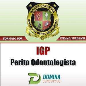 Apostila Concurso IGP SC 2017 Perito Odontolegista PDF
