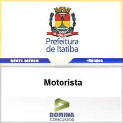 Apostila Concurso Itatiba SP 2017 Motorista Download