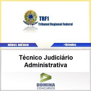 Apostila TRF 1 Região 2017 Técnico Judiciário Administrativa