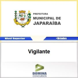 Apostila Concurso Japaraíba MG 2017 Vigilante Download