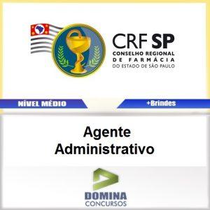 Apostila CRF SP 2017 Agente Administrativo PDF