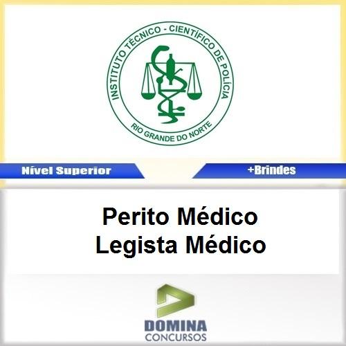 Apostila ITEP RN 2017 Perito Médico Legista Médico PDF