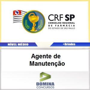 Apostila CRF SP 2017 Agente de Manutenção Download