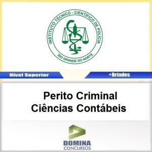 Apostila ITEP RN 2017 Perito Criminal Ciências Contábeis