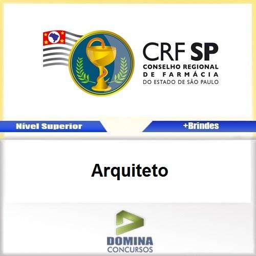Apostila Concurso CRF SP 2017 Arquiteto Download