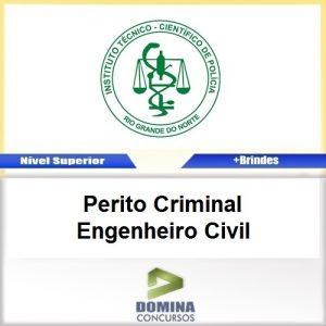 Apostila ITEP RN 2017 Perito Criminal Engenheiro Civil