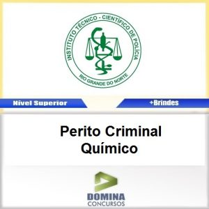 Apostila ITEP RN 2017 Perito Criminal Químico Download