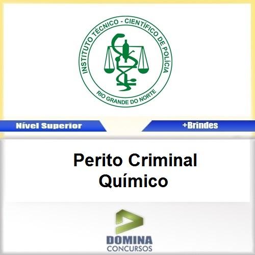 Apostila ITEP RN 2017 Perito Criminal Químico Download