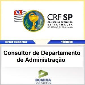 Apostila Concurso CRF SP 2017 Consultor de Administração