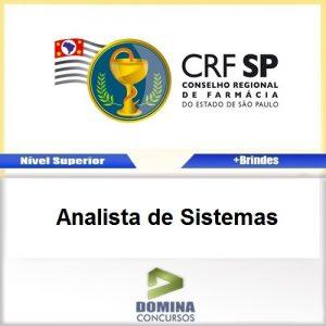 Apostila Concurso CRF SP 2017 Analista de Sistemas PDF