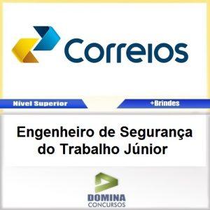 Apostila Correios 2017 Engenheiro Segurança Trabalho Júnior