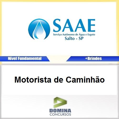 Apostila Concurso SAAE SP 2017 Motorista de Caminhão