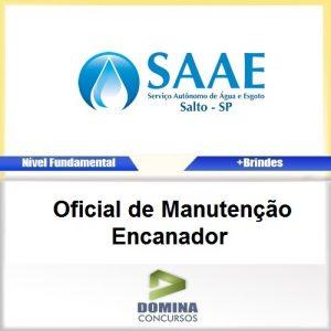Apostila Concurso SAAE SP 2017 Oficial Manutenção Encanador