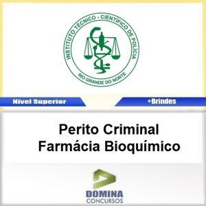 Apostila ITEP RN 2017 Perito Criminal Farmácia Bioquímico