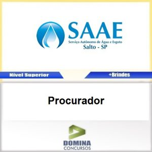 Apostila Concurso SAAE SP 2017 Procurador Download