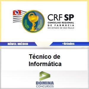 Apostila Concurso CRF SP 2017 Técnico de Informática