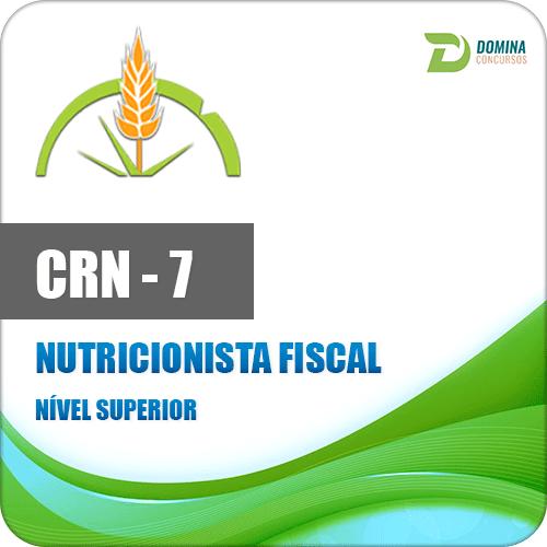 Apostila Concurso CRN 7 Região 2017 Nutricionista Fiscal