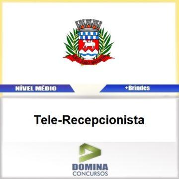 Apostila São João Batista SC 2017 Tele Recepcionista PDF