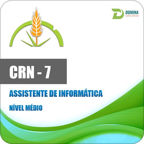 Apostila CRN 7 Região 2017 Assistente de Informática