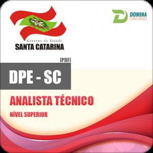 Apostila Concurso DPE SC 2017 Analista Técnico