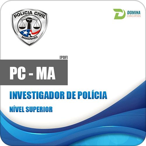 Apostila Polícia Civil do Maranhão PC MA 2018 Investigador da Polícia