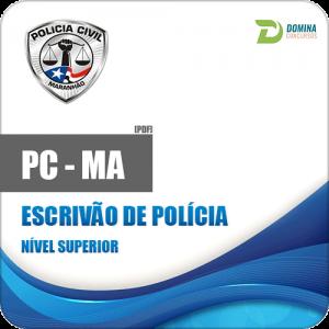 Apostila Polícia Civil do Maranhão PC MA 2018 Escrivão de Polícia