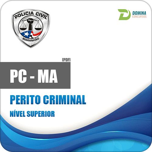 Apostila Polícia Civil do Maranhão PC MA 2018 Perito Criminal
