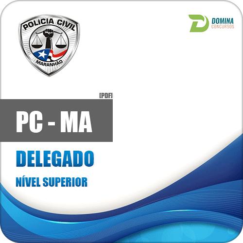 Apostila Polícia Civil do Maranhão PC MA 2018 Delegado