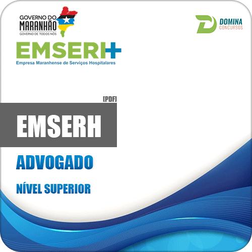 Apostila Concurso EMSERH MA 2018 Advogado