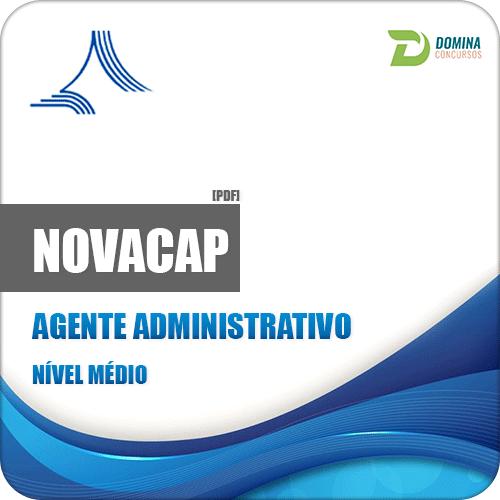 Apostila Concurso NOVACAP DF 2018 Agente Administrativo