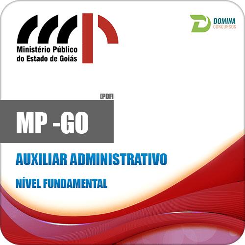 Apostila Ministério Público MP GO 2018 Auxiliar Administrativo