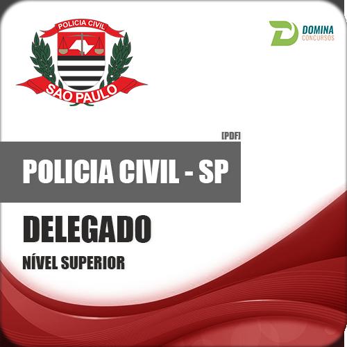 Apostila Polícia Civil PC SP 2018 Delegado